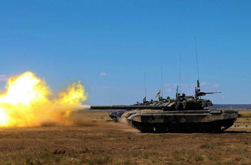 Т-72 ату алаңында